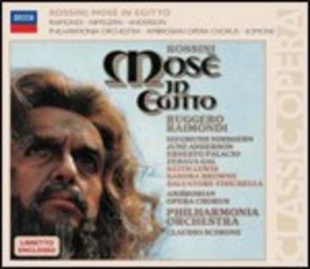 CD Mosé in Egitto di Gioachino Rossini