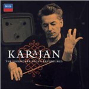 Foto Cover di The Legendary Decca Recordings, CD di Herbert Von Karajan, prodotto da Decca
