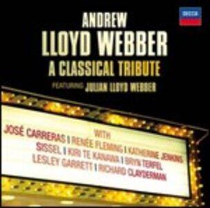 CD Andrew Lloyd Webber. A Classical Tribute di Andrew Lloyd Webber