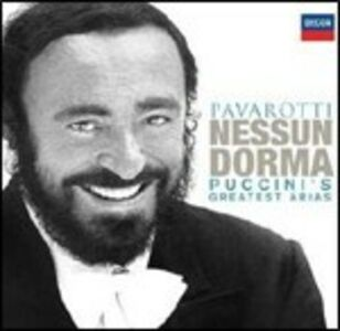 Foto Cover di Nessun dorma. Puccini's Greatest Arias, CD di Luciano Pavarotti,Giacomo Puccini, prodotto da Decca