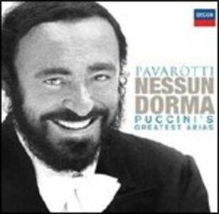 CD Nessun dorma. Puccini's Greatest Arias di Giacomo Puccini