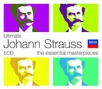 CD Ultimate Johann Strauss di Johann Strauss