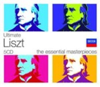 CD Ultimate Liszt di Franz Liszt
