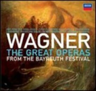 Foto Cover di The Great Operas from the Bayreuth Festival, CD di AA.VV prodotto da Decca
