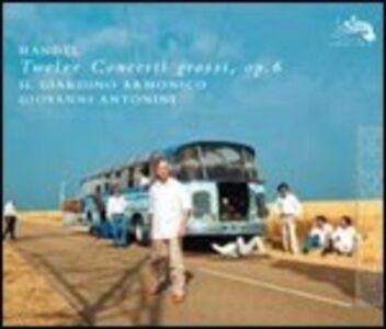 Foto Cover di 12 Concerti grossi op.6, CD di AA.VV prodotto da Decca
