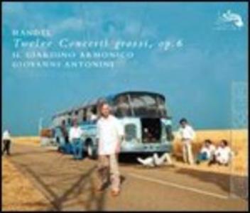 CD 12 Concerti grossi op.6 di Georg Friedrich Händel