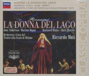 CD La donna del lago di Gioachino Rossini