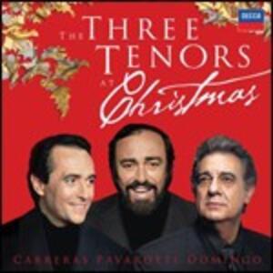 The 3 Tenors at Christmas - CD Audio di Placido Domingo,Luciano Pavarotti,José Carreras