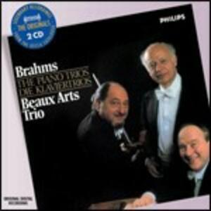 Trii con pianoforte - CD Audio di Johannes Brahms,Beaux Arts Trio