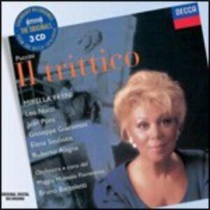 CD Il Trittico (Il Tabarro - Suor Angelica - Gianni Schicchi) di Giacomo Puccini