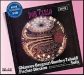 Don Carlo - CD Audio di Giuseppe Verdi,Renata Tebaldi,Carlo Bergonzi