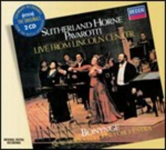 Live from Lincoln Center - CD Audio di Luciano Pavarotti,Marilyn Horne,Joan Sutherland,Richard Bonynge,New York City Opera Orchestra