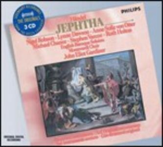 CD Jephtha di Georg Friedrich Händel