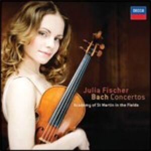 CD Concerti per violino di Johann Sebastian Bach