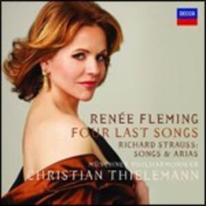 Vier Letzte Lieder - CD Audio di Richard Strauss,Renée Fleming