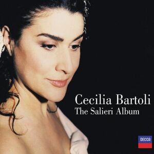Foto Cover di The Salieri Album, CD di Cecilia Bartoli,Antonio Salieri, prodotto da Decca