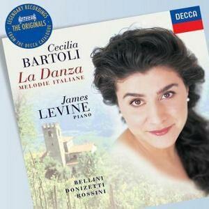 CD La Danza. Melodie italiane Vincenzo Bellini , Gaetano Donizetti , Gioachino Rossini