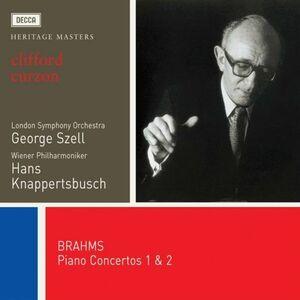 CD Concerti per pianoforte n.1, n.2 di Johannes Brahms