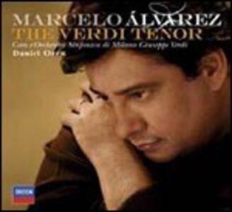 CD The Verdi Tenor di Giuseppe Verdi