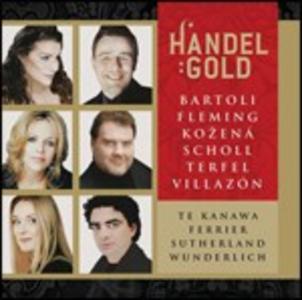 CD Händel Gold di Georg Friedrich Händel