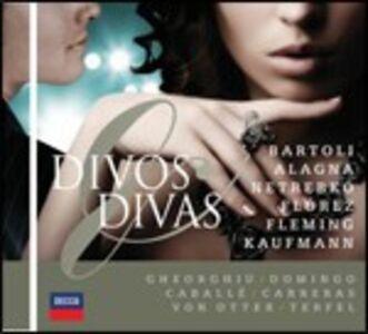 Foto Cover di Divos & Divas, CD di  prodotto da Decca