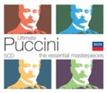 Foto Cover di Ultimate Puccini, CD di Giacomo Puccini, prodotto da Decca