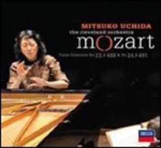 CD Concerti per pianoforte n.23, n.24 di Wolfgang Amadeus Mozart
