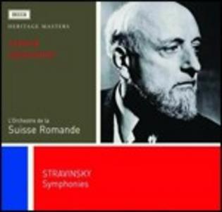 CD Sinfonia in Do - Sinfonia in tre movimenti - Sinfonia per strumenti a fiato di Igor Stravinsky