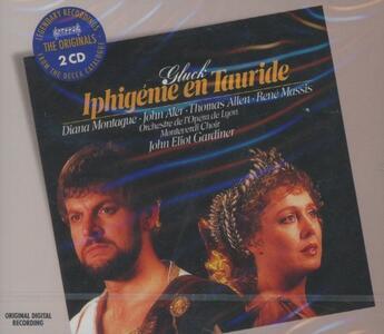 Ifigenia in Tauride - CD Audio di Christoph Willibald Gluck,Diana Montague,Annick Massis,John Eliot Gardiner,Orchestra dell'Opera di Lione