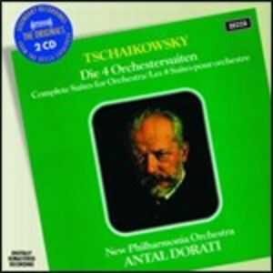 CD 4 Suites per orchestra di Pyotr Il'yich Tchaikovsky
