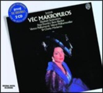 Il caso Makropulos - CD Audio di Leos Janacek,Sir Charles Mackerras,Wiener Philharmoniker,Peter Dvorsky