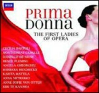 CD Prima Donna. The First Ladies of Opera