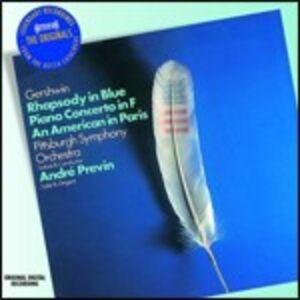 CD Rapsodia in blu - Concerto in Fa - Un americano a Parigi di George Gershwin