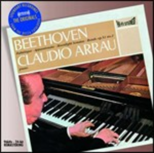 CD Sonate per pianoforte n.8, n.14, n.23 di Ludwig van Beethoven