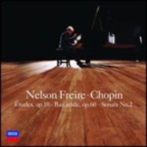 CD Studi op.10 - Sonata per pianoforte n.2 - Barcarola op.60 di Fryderyk Franciszek Chopin