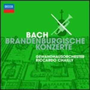 Foto Cover di Concerti brandeburghesi, CD di AA.VV prodotto da Decca