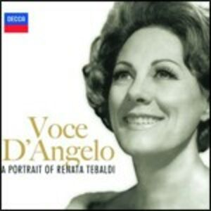 Foto Cover di Voce d'angelo, CD di Renata Tebaldi, prodotto da Decca