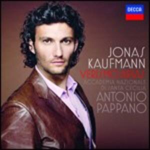 Verismo Arias - CD Audio di Antonio Pappano,Orchestra dell'Accademia di Santa Cecilia,Jonas Kaufmann