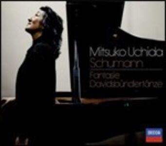 Foto Cover di Davidsbündlertanze - Fantasia, CD di Robert Schumann,Mitsuko Uchida, prodotto da Decca