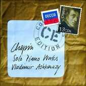 CD Musica per pianoforte completa Fryderyk Franciszek Chopin Vladimir Ashkenazy