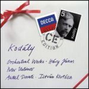 CD Musica per orchestra di Zoltan Kodaly