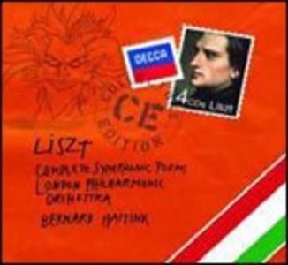 CD Poemi sinfonici completi di Franz Liszt