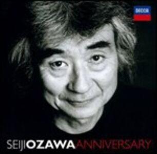 Foto Cover di Seiji Ozawa Anniversary, CD di Seiji Ozawa, prodotto da Decca