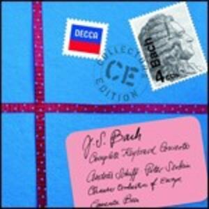 Concerti per pianoforte completi - CD Audio di Johann Sebastian Bach,Andras Schiff,Peter Serkin
