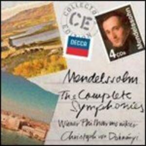 CD Sinfonie complete di Felix Mendelssohn-Bartholdy