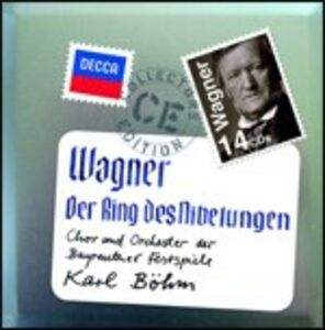 CD L'anello del Nibelungo di Richard Wagner