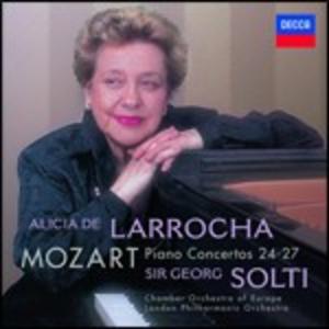 CD Concerti per pianoforte n.24, n.25, n.26, n.27 di Wolfgang Amadeus Mozart