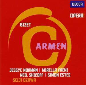 Carmen - CD Audio di Georges Bizet,Mirella Freni,Jessye Norman,Seiji Ozawa