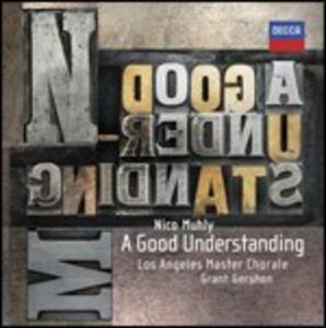 CD A Good Understanding di Nico Muhly