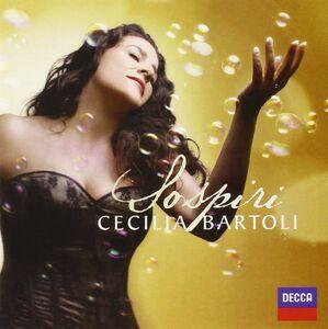 Foto Cover di Sospiri, CD di Cecilia Bartoli, prodotto da Decca